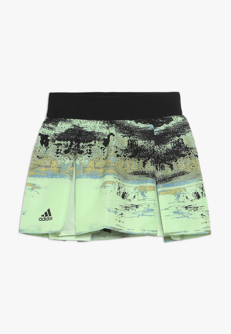 adidas Performance - SKIRT - Sportkjol - glowgreen/black