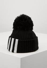 adidas Performance - FAT BRIM BEANIE - Huer - black/white/white - 2