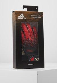 adidas Performance - Keepershandschoenen  - black/actred - 3