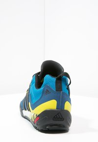adidas Performance - TERREX SWIFT SOLO - Hiking shoes - unity blue/core black/unity lime - 3