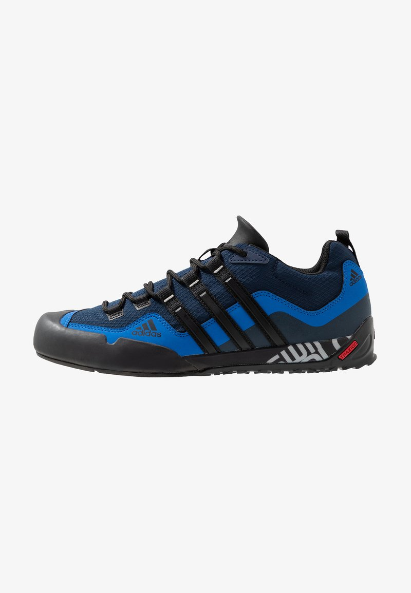 adidas Performance - TERREX SWIFT SOLO HIKING SHOES UNISEX - Hiking shoes - collegiate navy/core black/blue
