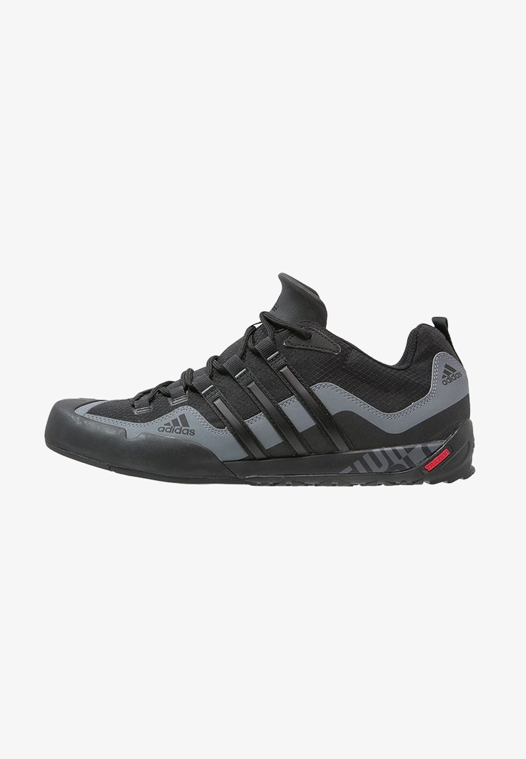 adidas Performance - TERREX SWIFT SOLO HIKING SHOES UNISEX - Scarpa da hiking - black/lead