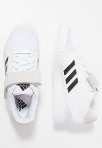 adidas Performance - POWER PERFECT 3 SHOES - Zapatillas de entrenamiento - footwear white/core black - 1