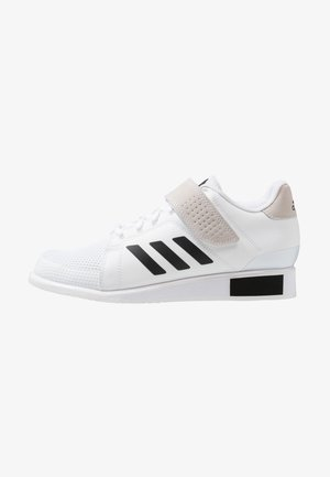 POWER PERFECT 3 SHOES - Træningssko - footwear white/core black