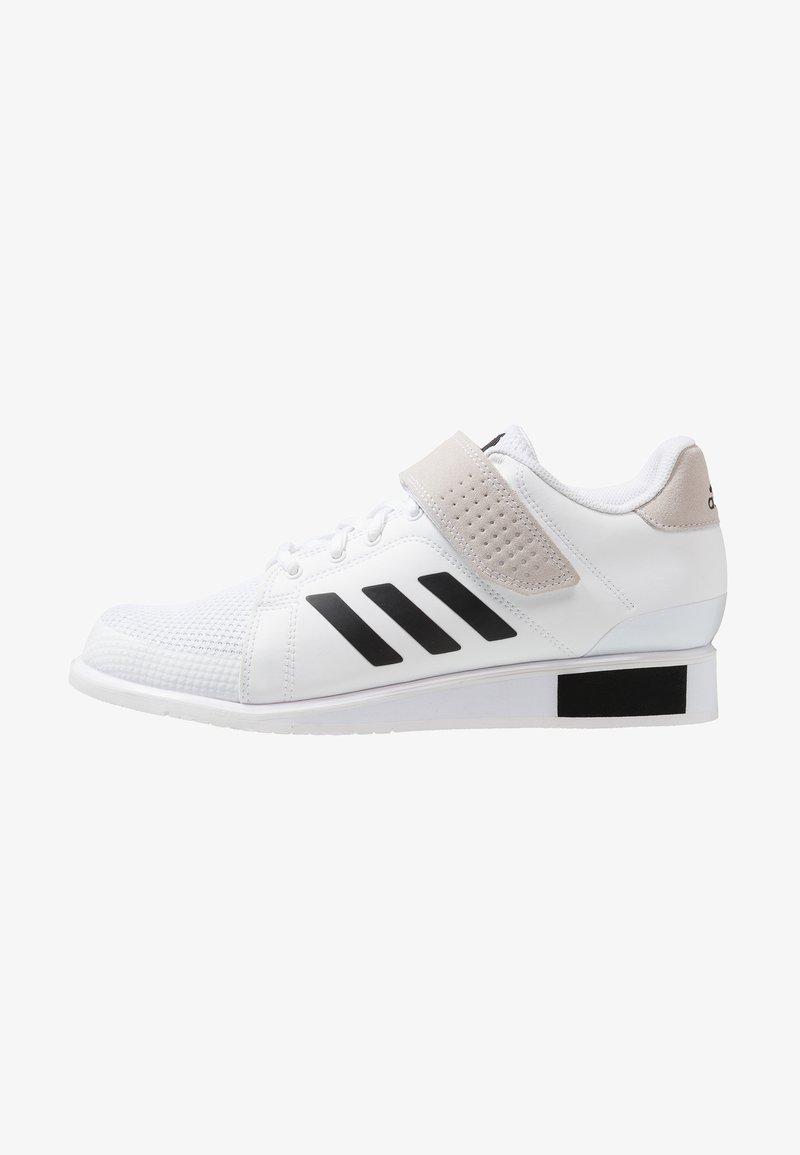 adidas Performance - POWER PERFECT 3 SHOES - Zapatillas de entrenamiento - footwear white/core black