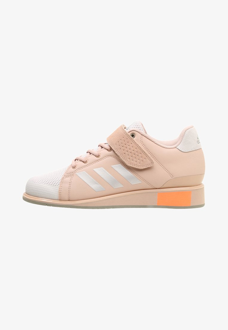 adidas Performance - POWER PERFECT 3 SHOES - Sportschoenen - chalk pearls/ash pearls