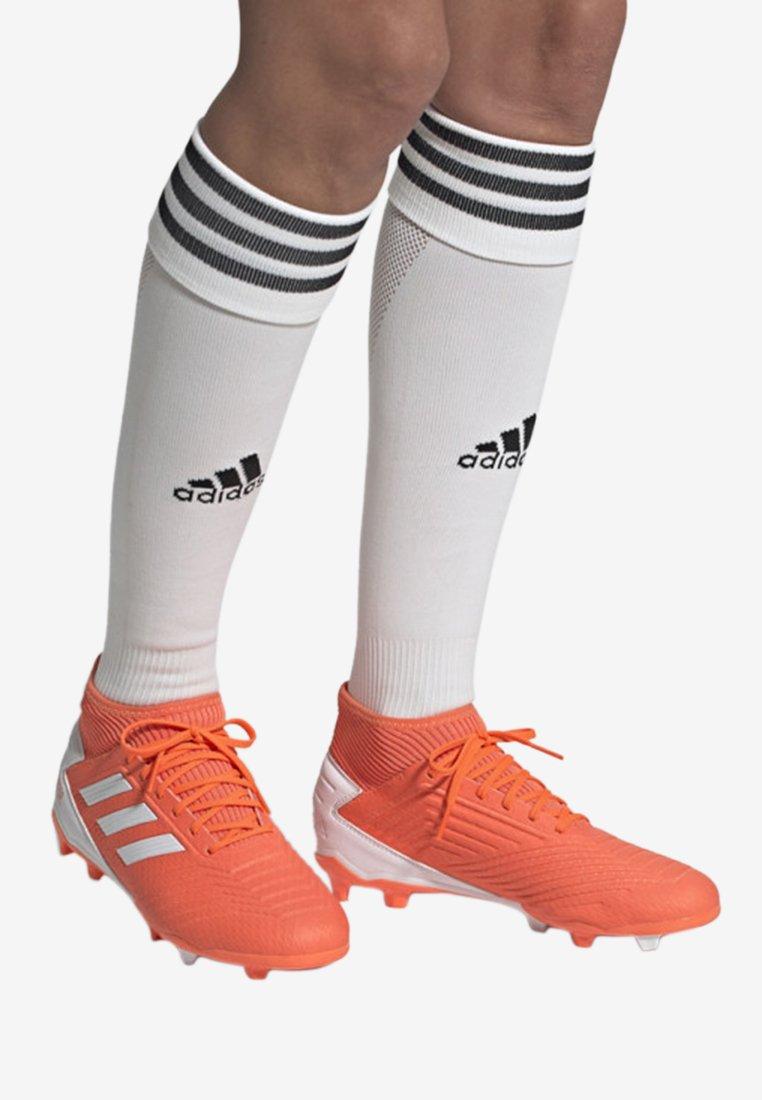 adidas Performance - PREDATOR 19.3 FIRM GROUND BOOTS - Fußballschuh Nocken - orange