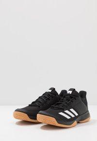 adidas Performance - LIGRA 6 YOUTH - Obuwie treningowe - core black/footwear white - 3