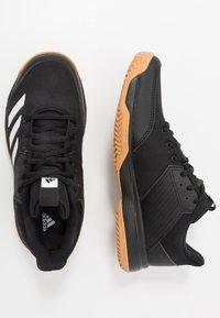 adidas Performance - LIGRA 6 YOUTH - Obuwie treningowe - core black/footwear white - 0
