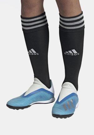 X 19.3 TURF BOOTS - Fodboldstøvler m/ multi knobber - blue