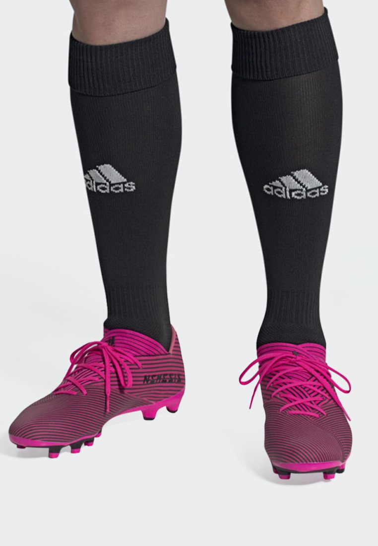adidas Performance - NEMEZIZ 19.2 MULTI-GROUND BOOTS - Screw-in stud football boots - pink