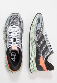 adidas Performance - 4D 1.0 - Nøytrale løpesko - footwear white/core black/signal coral - 1