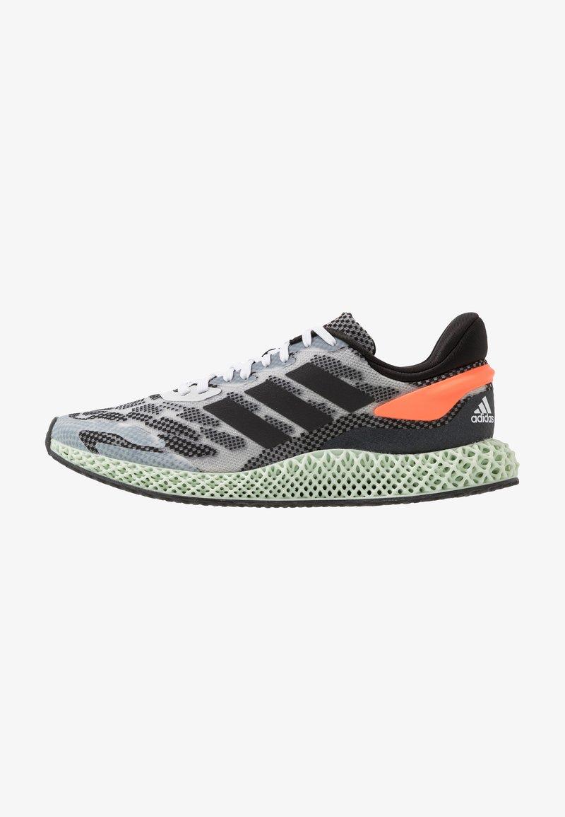 adidas Performance - 4D 1.0 - Nøytrale løpesko - footwear white/core black/signal coral