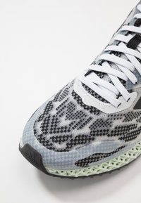adidas Performance - 4D 1.0 - Nøytrale løpesko - footwear white/core black/signal coral - 5
