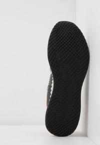 adidas Performance - 4D 1.0 - Nøytrale løpesko - footwear white/core black/signal coral - 4