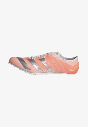 ADIZERO PRIME SPRINT SPIKES - Chaussures à crampons - orange/silver/white