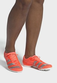 adidas Performance - ADIZERO MIDDLE DISTANCE SPIKES - Spikes - coral - 0