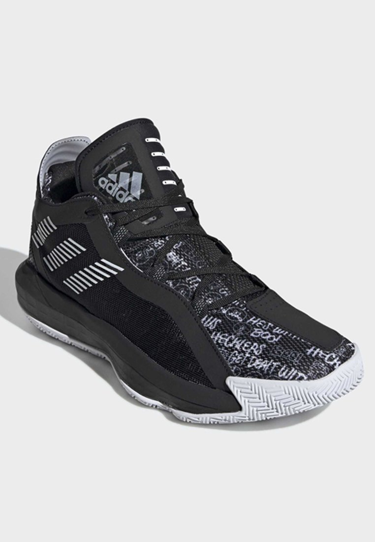 Adidas Performance Dame Shoes - Scarpe Da Basket Black Scontate