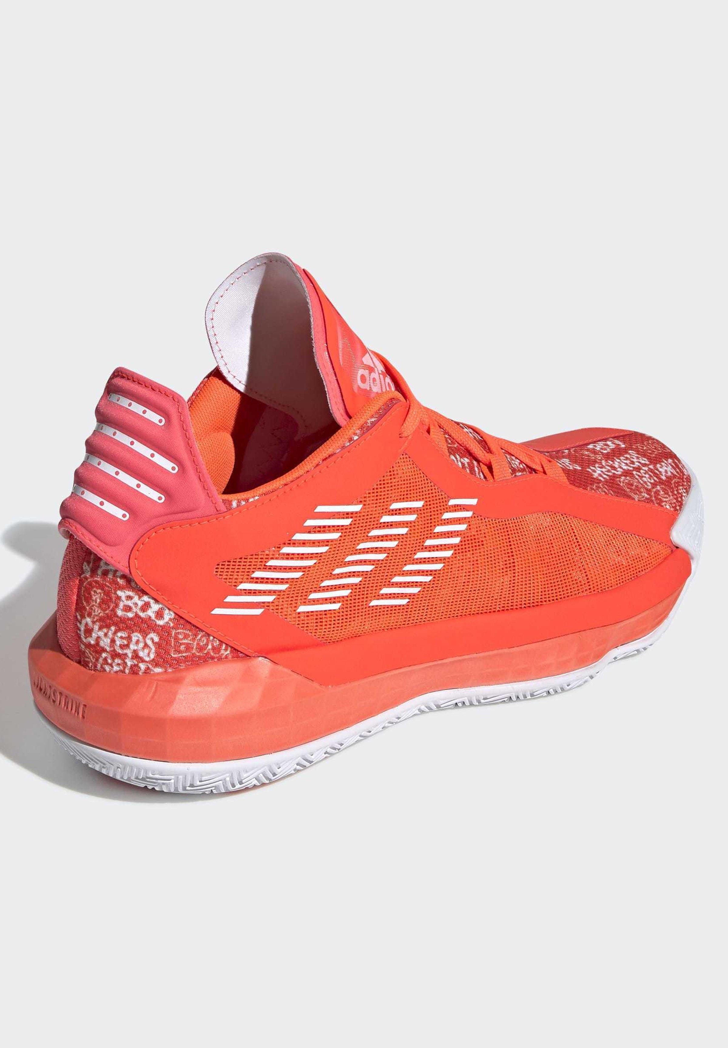 adidas Performance DAME 6 SHOES - Scarpe da basket - orange