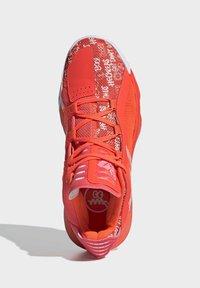adidas Performance - DAME 6 SHOES - Koripallokengät - orange - 2
