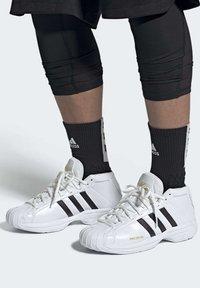 adidas Performance - PRO MODEL 2G ALL-STAR WEST 2020 SHOES - Obuwie do koszykówki - black - 0