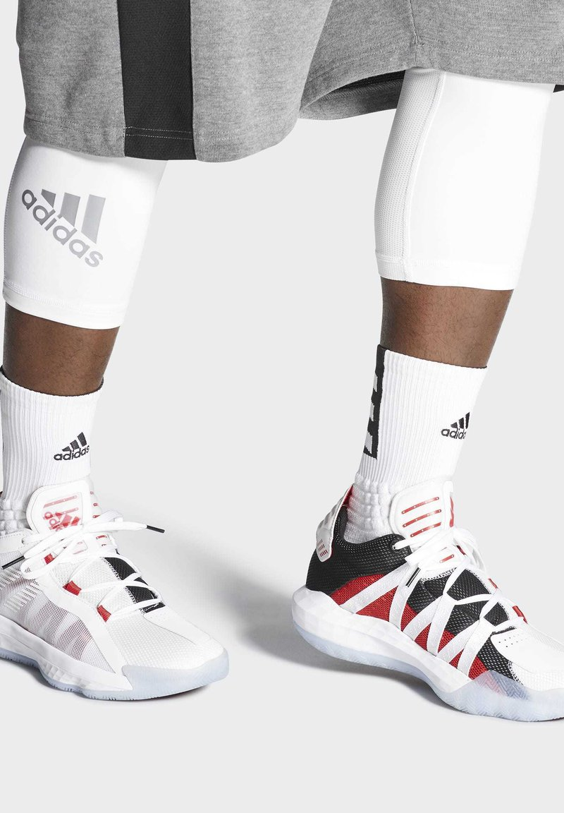 adidas Performance - DAME 6 SHOES - Basketball shoes - white