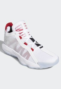 adidas Performance - DAME 6 SHOES - Basketball shoes - white - 3