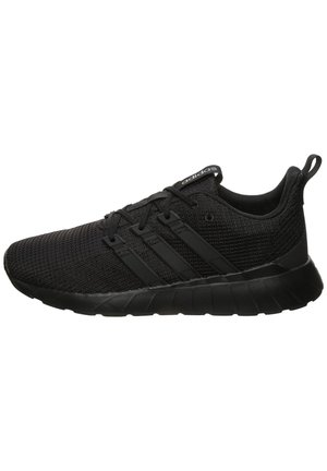 QUERSTAR FLOW SNEAKER HERREN - Neutral running shoes - core black