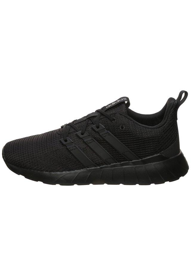 QUERSTAR FLOW SNEAKER HERREN - Neutral running shoes - core black