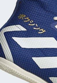 adidas Performance - BOX HOG 3 SHOES - Sneakersy wysokie - blue - 7