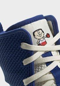 adidas Performance - BOX HOG 3 SHOES - Sneakersy wysokie - blue - 6