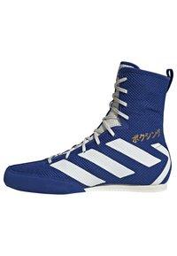 adidas Performance - BOX HOG 3 SHOES - Sneakersy wysokie - blue - 12