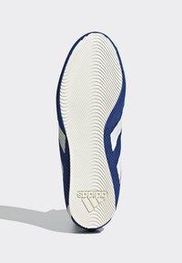 adidas Performance - BOX HOG 3 SHOES - Sneakersy wysokie - blue - 5