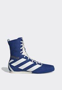 adidas Performance - BOX HOG 3 SHOES - Sneakersy wysokie - blue - 11