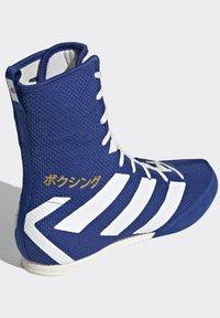 adidas Performance - BOX HOG 3 SHOES - Sneakersy wysokie - blue - 4
