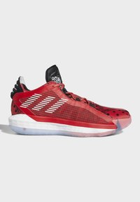 adidas Performance - DAME 6 SHOES - Koripallokengät - red - 6