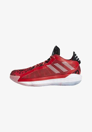 DAME 6 SHOES - Basketballsko - red