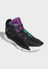 adidas Performance - DAME 6 SHOES - Basketball shoes - black - 4