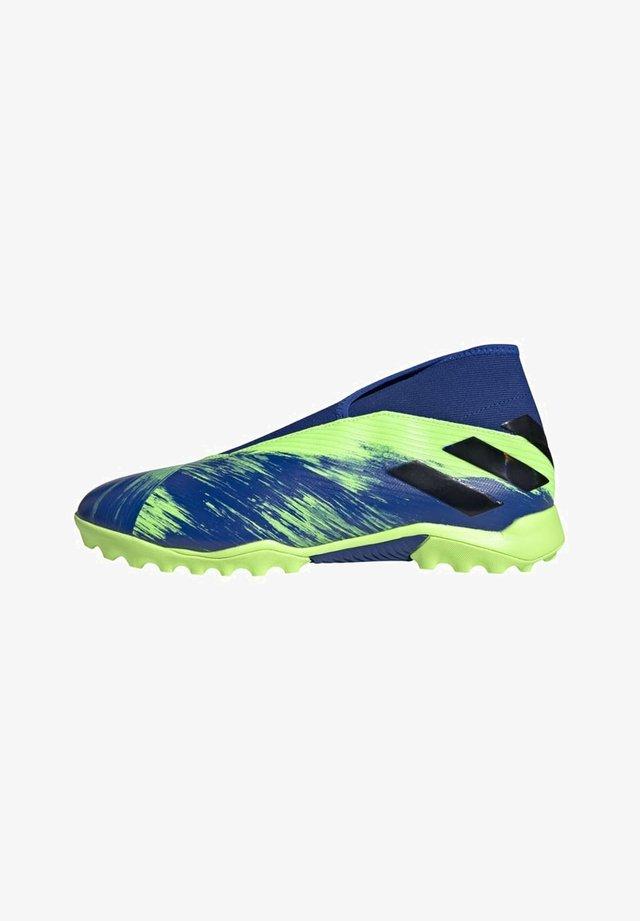 NEMEZIZ 19.3 TURF BOOTS - Fodboldstøvler m/ multi knobber - green