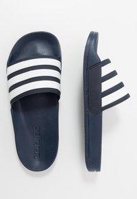 adidas Performance - ADILETTE - Badesandale - blue - 1