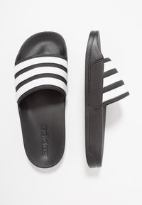 adidas Performance - ADILETTE - Badesandale - core black/footwear white - 1