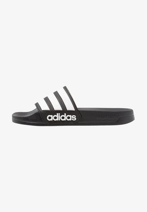 ADILETTE - Pool slides - core black/footwear white
