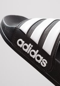 adidas Performance - ADILETTE - Badesandale - core black/footwear white - 5