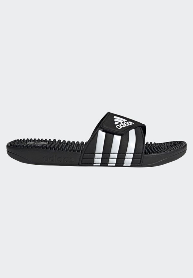adidas Performance ADISSAGE SLIDES - Klapki - black/white