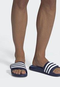 adidas Performance - ADISSAGE TND SLIDES - Pool slides - blue - 0