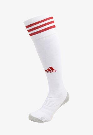 ADI SOCK 18 - Fodboldstrømper - white/power red