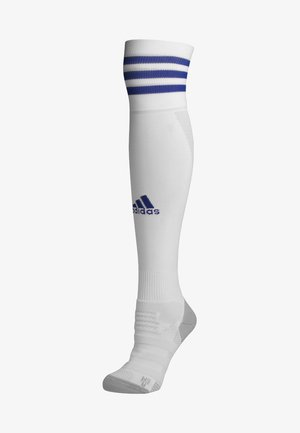 ADI SOCK 18 - Football socks - white/boblue