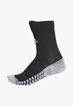 Alphaskin Traxion Ultralight Crew Socks - Urheilusukat - black/gray