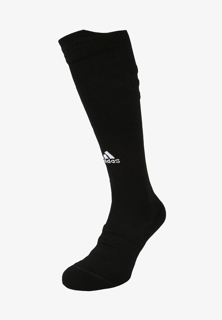 adidas Performance - ALPHASKIN LIGHTWEIGHT CUSHIONING OVER-THE-CALF COMPRESSION SOCKS - Kniestrümpfe - black