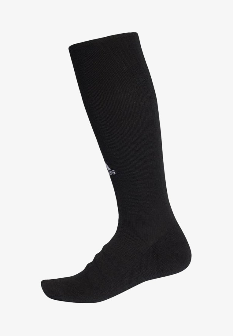 adidas Performance - ALPHASKIN LIGHTWEIGHT CUSHIONING OVER-THE-CALF COMPRESSION SOCKS - Knee high socks - black
